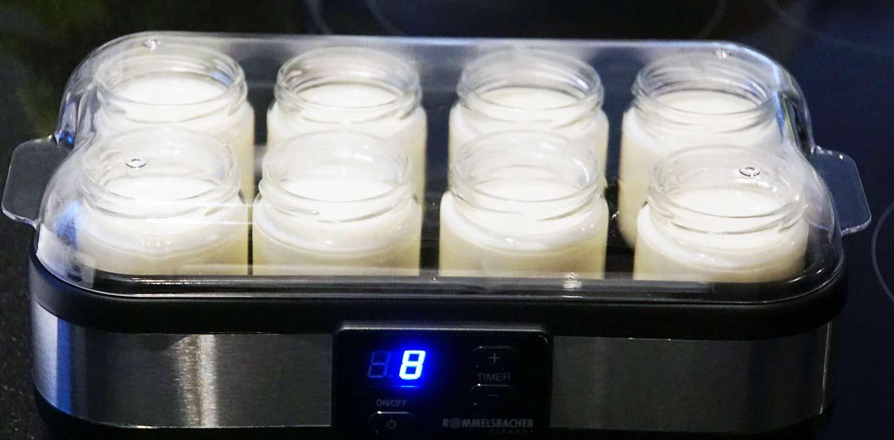 rommelsbacher yogurtmaker jg 40